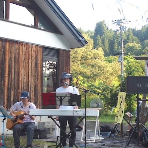 8月5日(土)月見音楽祭2017に出演しました!